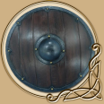 LARP Viking Round Shield